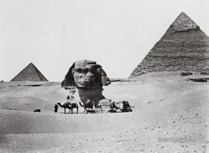 Pyramids-and-Sphinx-Giza-Egypt-1860-1890-Photographium-Historic-Photo-Archive