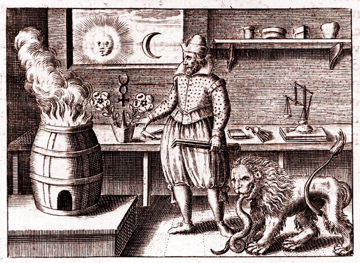 Znalezione obrazy dla zapytania alchemia