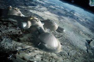 Miasta znalezione na Księżycu