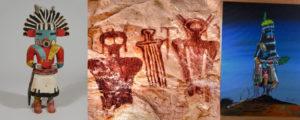 Opowieści Indian Hopi i Zuni o tajemniczych istotach Kaczina