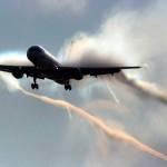 Zdjęcia z wewnątrz samolotów rozprzestrzeniające Chemtrail !!!