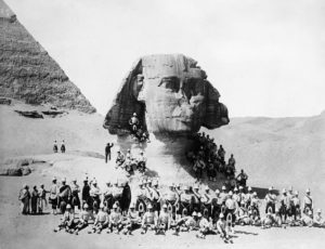 GREAT-SPHINX-1882-British-soldiers-posing-at-the-Great-Sphinx-at-Giza